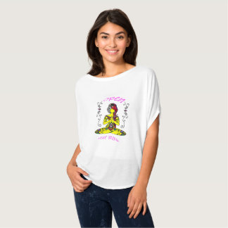 T-shirt meditation loose round neck