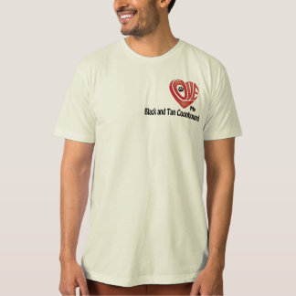 T-Shirt Men's- Love My Black and Tan Coonhound