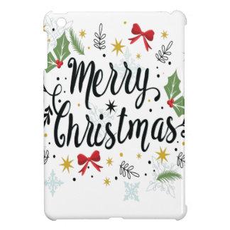 T Shirt Merry Christmas-1 iPad Mini Cover