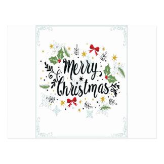 T Shirt Merry Christmas-1 Postcard