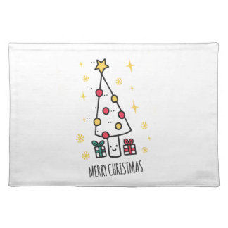 T Shirt Merry Christmas Placemat