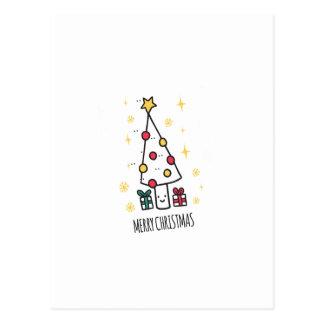 T Shirt Merry Christmas Postcard