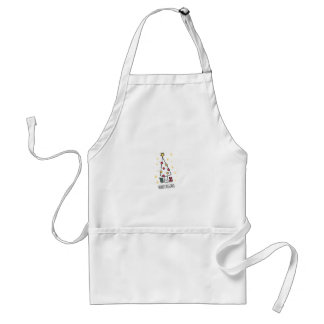 T Shirt Merry Christmas Standard Apron