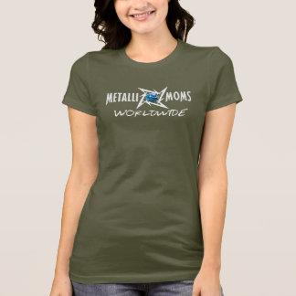 T-shirt Metallimoms dans le monde entier