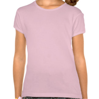 T-shirt mignon de Babydoll de Bella d'arc de rose