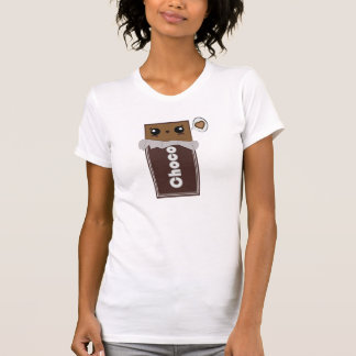 T-shirt mignon de barre de chocolat