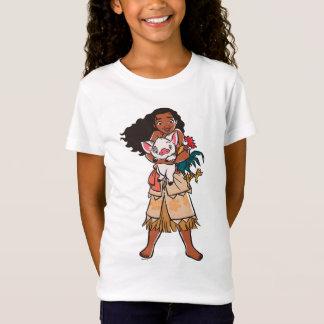 T-Shirt Moana | Pua et Heihei - voyageurs