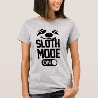 T-shirt Mode de paresse dessus