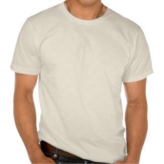 T-shirt moderne d art de globe de la moitié du