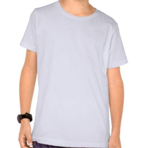 T-shirt moderne d'art de globe de la moitié du