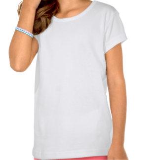 T-shirt moderne de femme au foyer de la moitié du