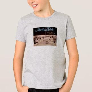 T-shirt moderne de la moitié du siècle vintage de