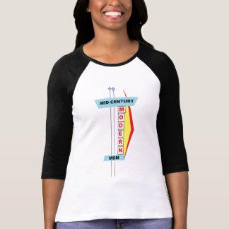 T-shirt moderne de maman de la moitié du siècle