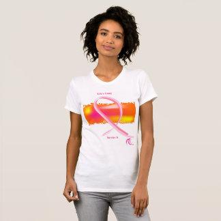 T-shirt Mois de conscience de Cancer de bête