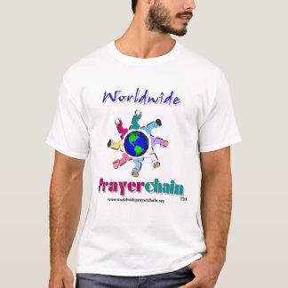 T-shirt mondial de chaîne de prière