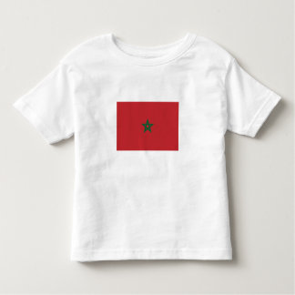 T-shirt Moroccan flag.