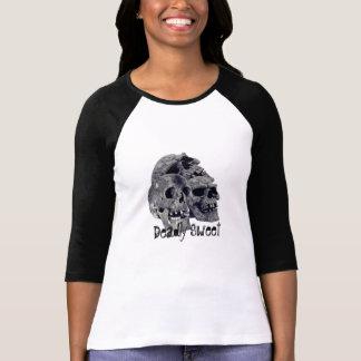 T-shirt mortel de douilles du bonbon 3/4