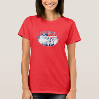 T-shirt. Mount Rushmore, the USA America, South T-Shirt