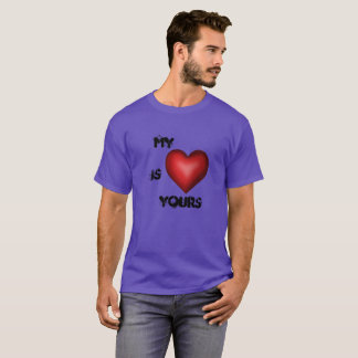 T-SHIRT MY HEART is YOURS FashionFC