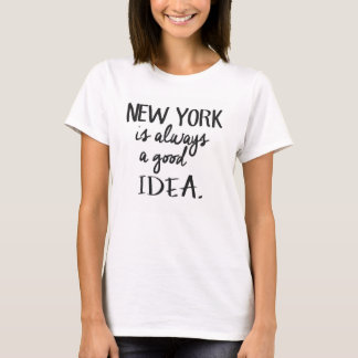 T-Shirt New York is a good idea