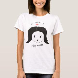 "T-shirt ""nice nurse """