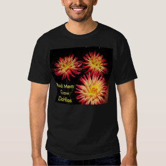 T-shirt noir de dahlia