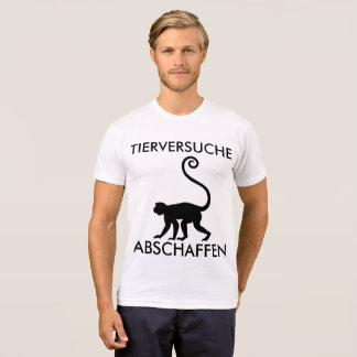 "T-SHIRT OF ""ANIMAL EXPERIMENTS ABOLISHING """