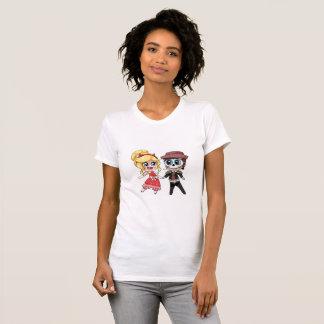 T-shirt of Beautiful+Canvas Favorirta of jersey
