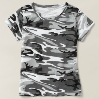 T-shirt of camouflage for woman
