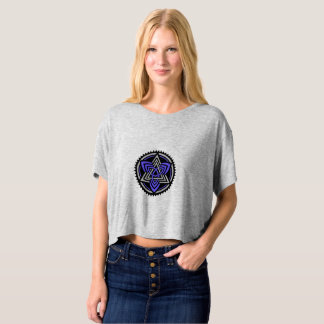 T-shirt of short bust for woman