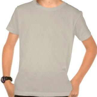T-shirt organique de robot de l'emballement de