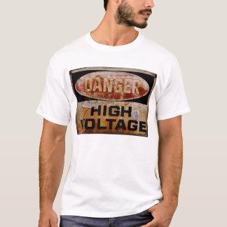 T-shirt Panneau d'avertissement 003