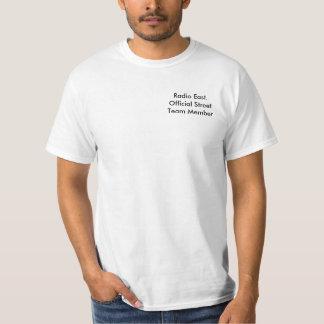T-shirt par radio de membre de l'équipe de rue