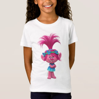 T-Shirt Pavot des trolls | - reine des trolls