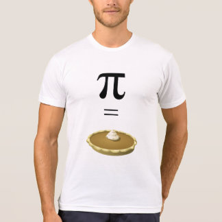 T-Shirt Pi Symbol Equals Pie