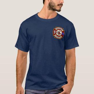 T-shirt Pièce en t du feu Engine-2 de Vancouver