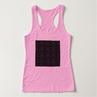 T-Shirt pink with Black Ornaments