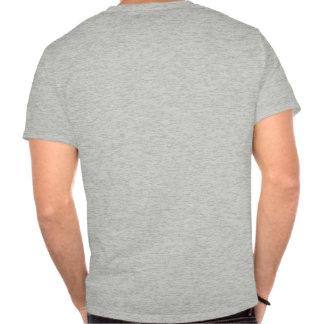 T-shirt pittoresque de chemin détourné d'îles de S