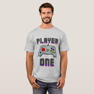 T-SHIRT PLAYER ONE - GAME