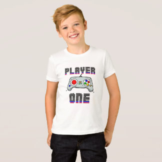 T-SHIRT PLAYER ONE - GAME TEEN