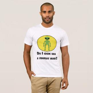 T-shirt Plutôt alien amical