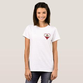 T-shirt Poche d'amour de Santa Rosa