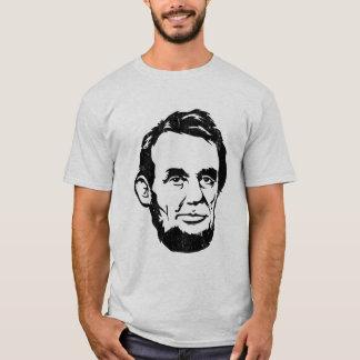 T-shirt portrait de géant d'Abraham Lincoln