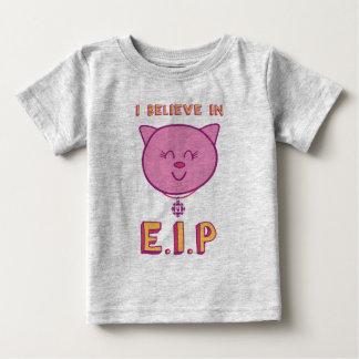 T-shirt Pour Bébé Cottonball - je crois à l'E.I.P