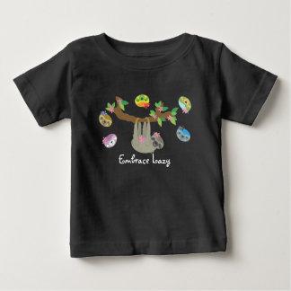 T-shirt Pour Bébé Étreinte paresseuse - chemise décontractée de bébé