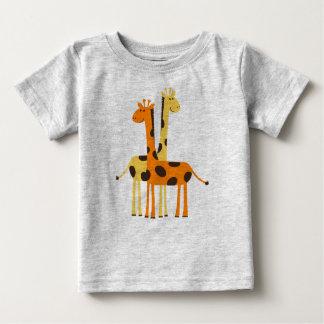 T-shirt Pour Bébé Girafes Animated mignonnes