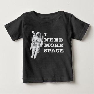 T-shirt Pour Bébé J'ai besoin de plus d'espace