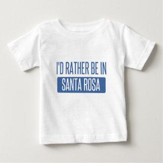T-shirt Pour Bébé Je serais plutôt à Santa Rosa