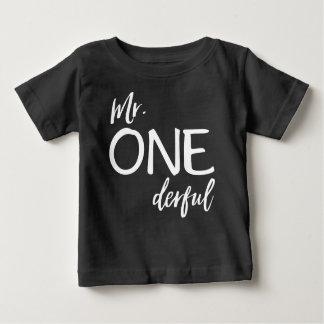 T-shirt Pour Bébé M. Onederful