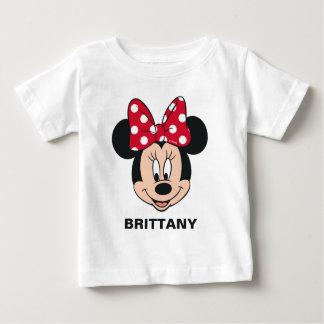 T-shirt Pour Bébé Minnie Mouse | ajoutent votre nom